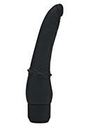 Vibratore Realistico Anale Black 17cm