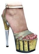 Sandalo oro con swarovski