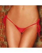 Perizoma V string rosso