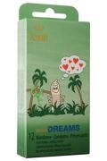Profilattici Amor Wild Dreams Stimolanti 12pz