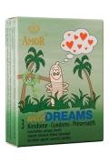 Profilattici Amor Wild Dreams Stimolanti 3pz