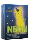 Profilattici Amor Neon 2pz